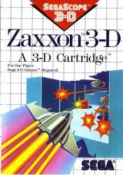 Cover Zaxxon 3-D