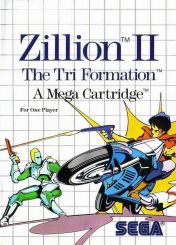 Cover Zillion II: The Tri Formation