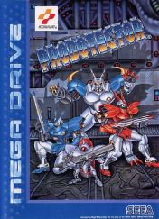 Cover Contra: Hard Corps
