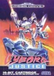 Cover Cyborg Justice