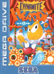 Cover Dynamite Headdy (Mega Drive)