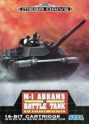 Cover M-1 Abrams Battle Tank