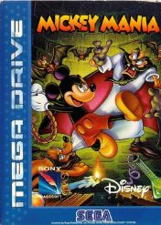 Cover Mickey Mania: The Timeless Adventures of Mickey Mouse (Mega Drive)