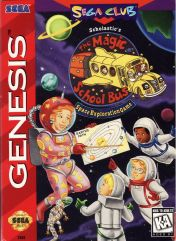 Cover Scholastic's The Magic School Bus: Space Exploration Game