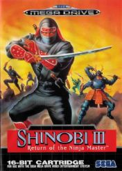 Cover Shinobi III: Return of the Ninja Master