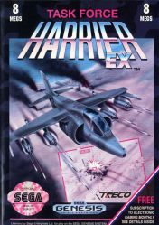 Cover Task Force Harrier EX