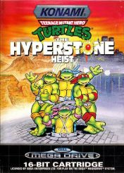 Cover Teenage Mutant Ninja Turtles: The Hyperstone Heist