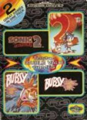 Cover Telstar Double Value Games: Sonic the Hedgehog 2 / Bubsy