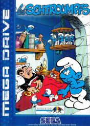 Cover The Smurfs (Mega Drive)