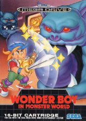 Cover Wonder Boy in Monster World