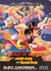 Cover World of Illusion Starring Mickey Mouse & Donald Duck