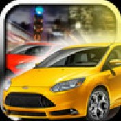 Cover - A Crazy City Traffic Taxi Racer Game