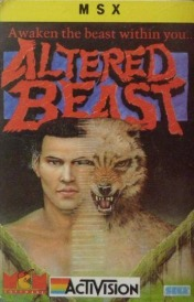 Cover Altered Beast (MSX)