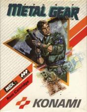 Cover Metal Gear (MSX)
