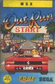 Cover OutRun (MSX)