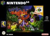 Cover Banjo-Kazooie (Nintendo 64)