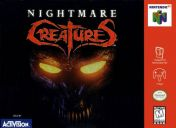 Cover Nightmare Creatures