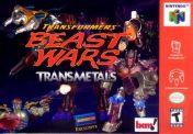 Cover Transformers: Beast Wars Transmetals
