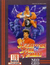 Cover Aggressors of Dark Kombat