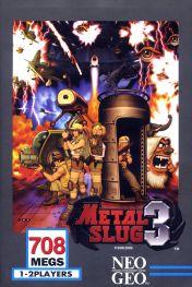 Cover Metal Slug 3 (Neo Geo)