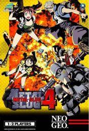 Cover Metal Slug 4 (Neo Geo)