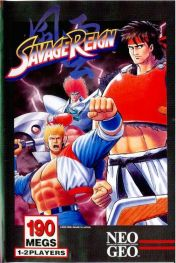 Cover Savage Reign