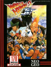 Cover World Heroes 2 Jet