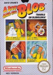 Cover A Boy and His Blob: Trouble on Blobolonia