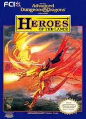 Cover Advanced Dungeons & Dragons: Heroes of the Lance