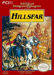 Cover Advanced Dungeons & Dragons: Hillsfar