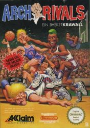 Cover Arch Rivals: A Basket Brawl!
