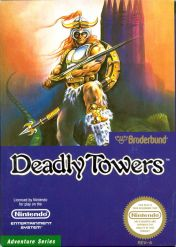 Cover Deadly Towers (NES)