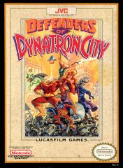 Cover Defenders of Dynatron City
