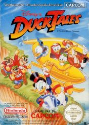 Cover Disney's DuckTales (NES)
