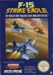 Cover F-15 Strike Eagle