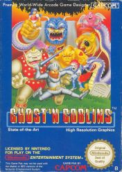 Cover Ghosts 'n Goblins (NES)