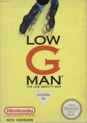 Cover Low G Man: The Low Gravity Man