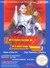 Cover Mega Man 2 (NES)