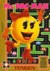 Cover Ms. Pac-Man (Tengen)