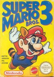Cover Super Mario Bros. 3 (NES)