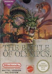 Cover The Battle of Olympus