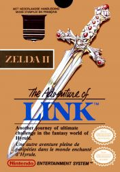 Cover Zelda II: The Adventure of Link (NES)