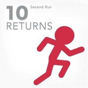 Cover 10 Second Run Returns