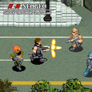 Cover ACA NEOGEO SHOCK TROOPERS 2nd Squad
