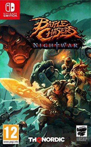 Cover Battle Chasers: Nightwar