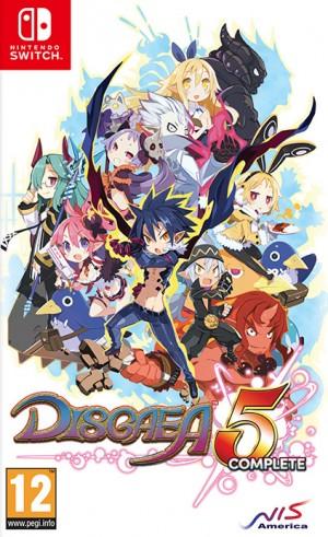 Cover Disgaea 5 Complete