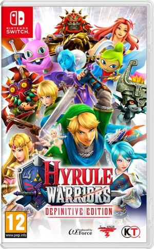 Cover Hyrule Warriors: Definitive Edition (Nintendo Switch)