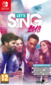 Cover Let's Sing 2018