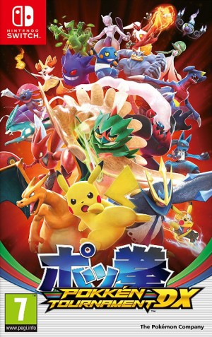 Cover Pokkén Tournament DX