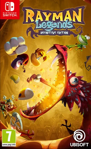 Cover Rayman Legends: Definitive Edition (Nintendo Switch)